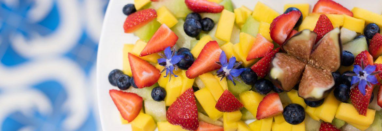 breakfast Cornish strawberries